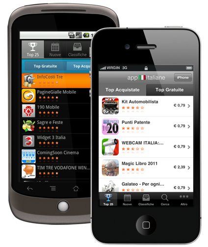 app italiane - iphone, ipad, android